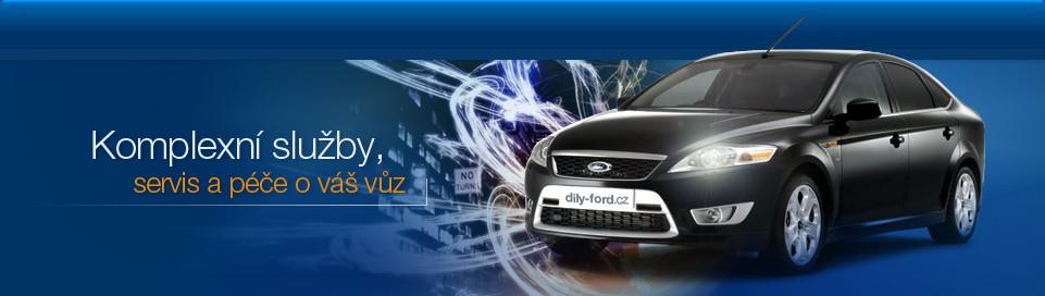 Autodíly Ford, Vrakoviště, Autovrakoviště, Prodej dílů Ford